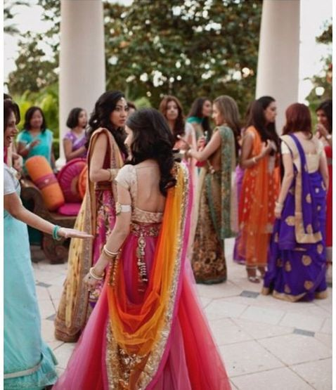 what to wear for a sangeet