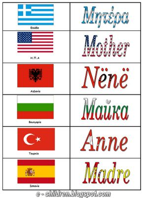 w.mother in languages