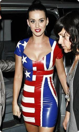 Платье американский флаг