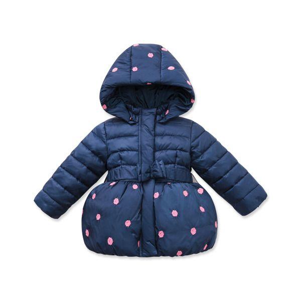 Детские куртки осень-зима из Китая :: Зимние новые davebella daiweibeila 2015 густой Мягкий Хлопок Одежда для девочек детские теплые хлопковые MF.