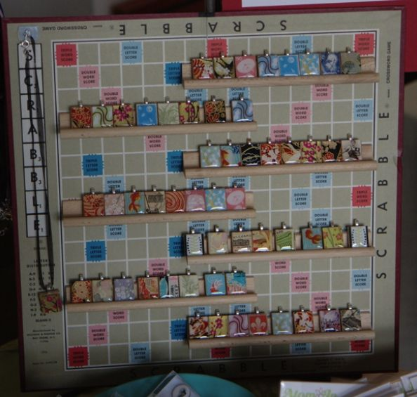 I was planning on using the tile racks the next craft fair to sell my wares, but I love the use of the actual board.