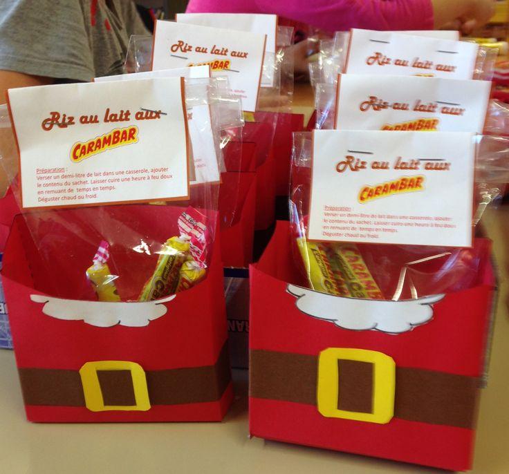 Marché de Noël : fry box et riz au lait - Charivari à l'école