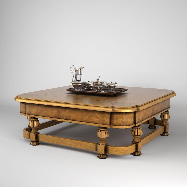 3D Obj Provasi Coffee Table   3D Model