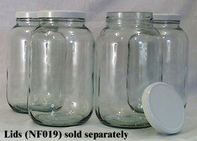 1 gallon wide-mouth glass jars from azure standard - $2.84