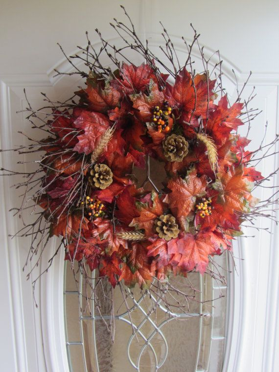 111 best images about fall decorations on pinterest more for Artificial cranberries for decoration