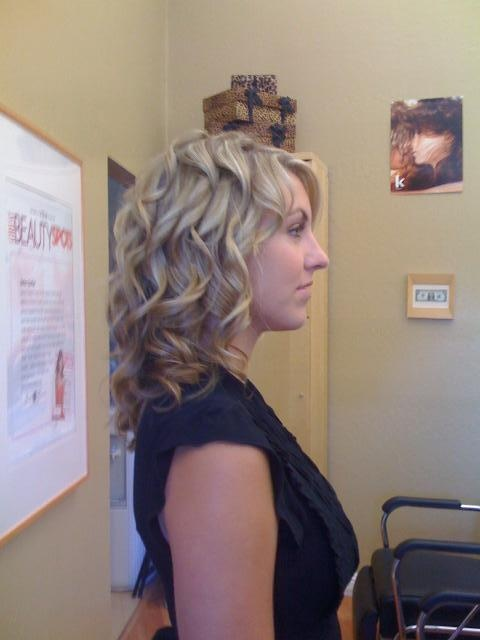 lots of loose curls