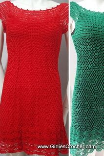 Gina dress is a free crochet pattern for beginners that used fine thread and US-1 / 2.75MM hook. It has a photo tutorial in each step to guide you in your crochet journey.