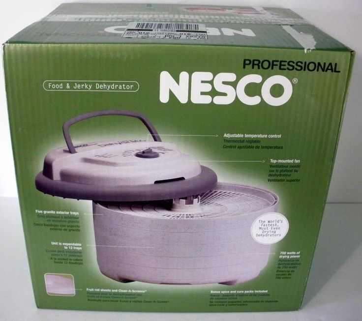 Nesco FD-75PR Professional Food & Jerky Dehydrator 700 Watts New In Box #NESCO