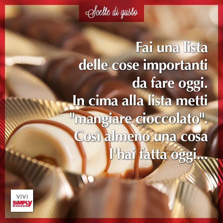 Mangiare #cioccolato. Fatto! #sivivedigusto #dolci #dessert #mangiare