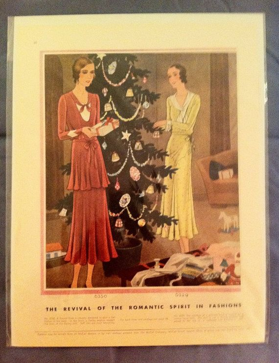Vintage Magazine Ad 1930 Christmas Ad McCall's by LorasVintageShop, $10.00