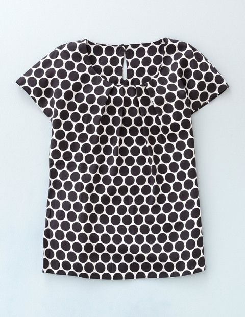 #Boden #BringonMonday Ravello Top WA672 Short Sleeved Tops at Boden