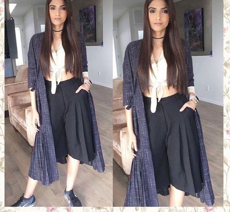 Sonam Kapoor # bodice # casual day out # casual wear # Indian casual #