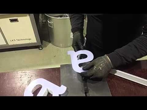 """LED Channel Letter Fabrications, Letter """"a"""""""