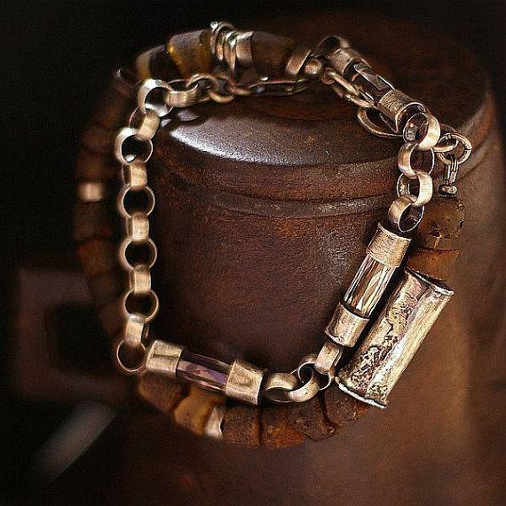 SUMMER SALE - 10 % OFF -   Baltic amber - Sterling silver -  bracelet -  Swarovski silver shade .