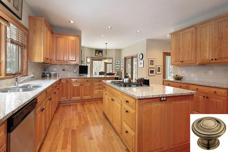 Dark Light Oak Maple Cherry Cabinetry And Modern Farmhouse