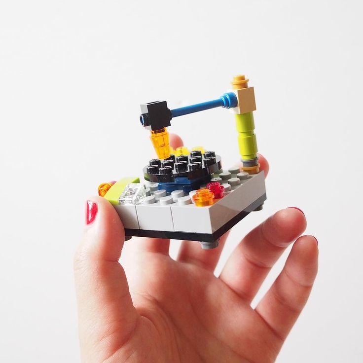 レコードプレイヤー/record player #レコードプレイヤー #レゴ #オリジナルレゴ #自作レゴ #レコード #record #recordplayer #lego