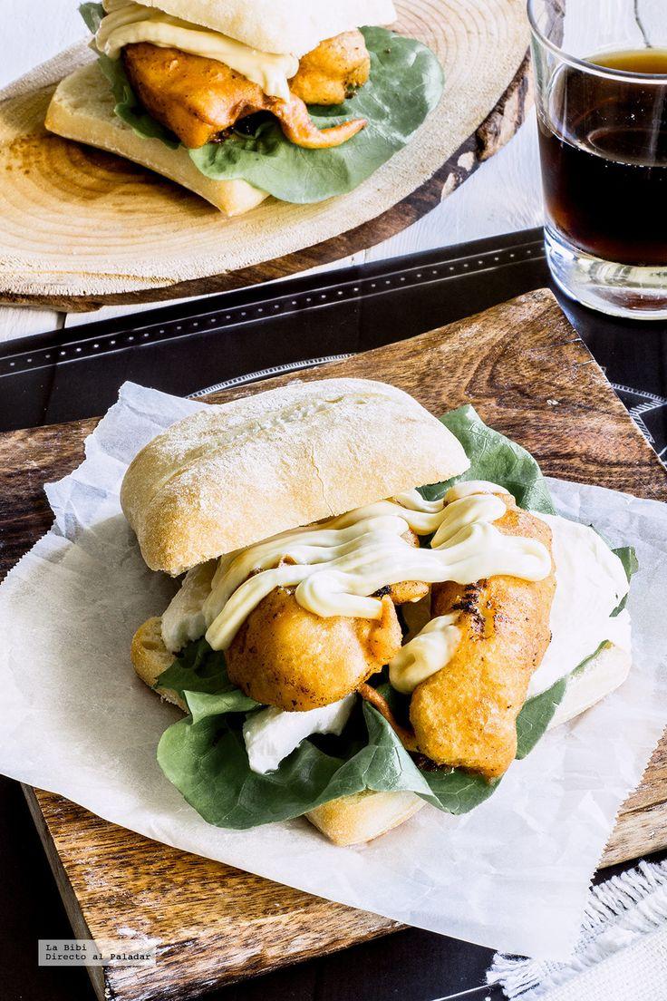 Hamburguesas de pollo con paprika rebozado. Receta deliciosa