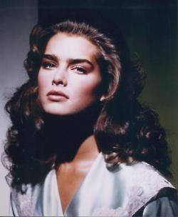 Brooke Shields, circa 1985