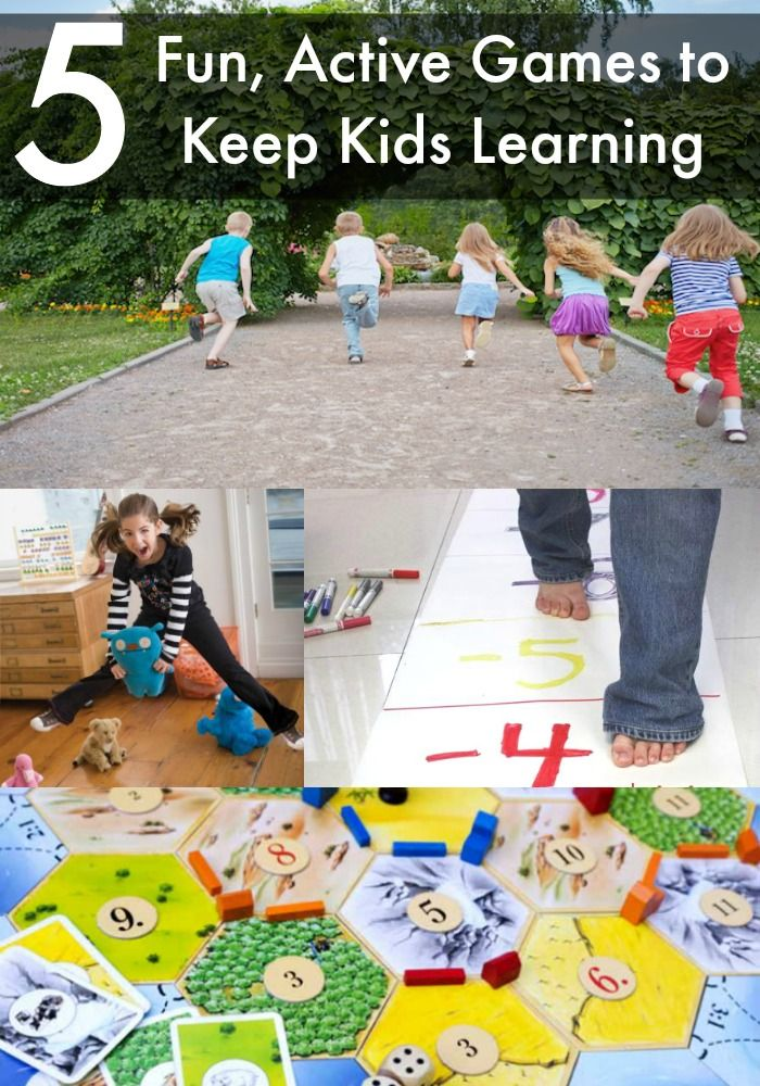 5 Fun Active Games To Keep Kids Learning SummerLearning Sweepstakes