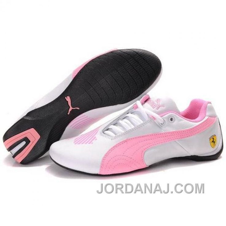 Puma Engine Cat Low Shoes In White Pink Super Deals