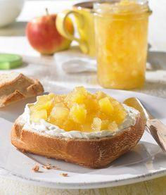 Apfel-Ananas-Konfitüre -  Eine fruchtige Konfitüre mit Apfel und Ananas für den Sommer