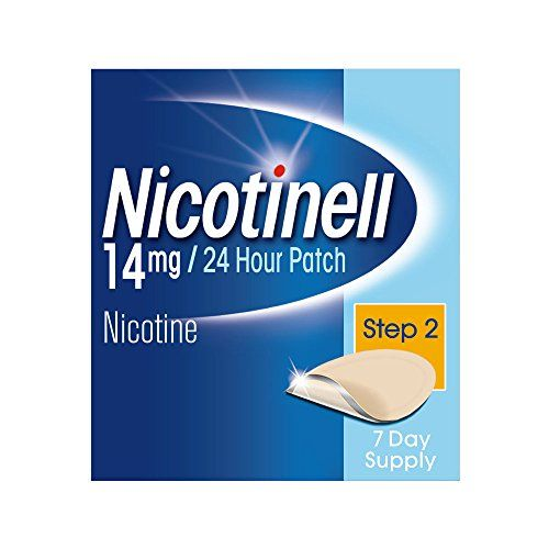 From 12.78 Nicotinell Nicotine Patches Stop Smoking Aid (14 Mg 24-hour Step 2 7-day)