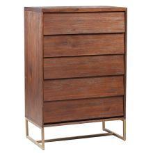 PARQUE 5 drawer tallboy