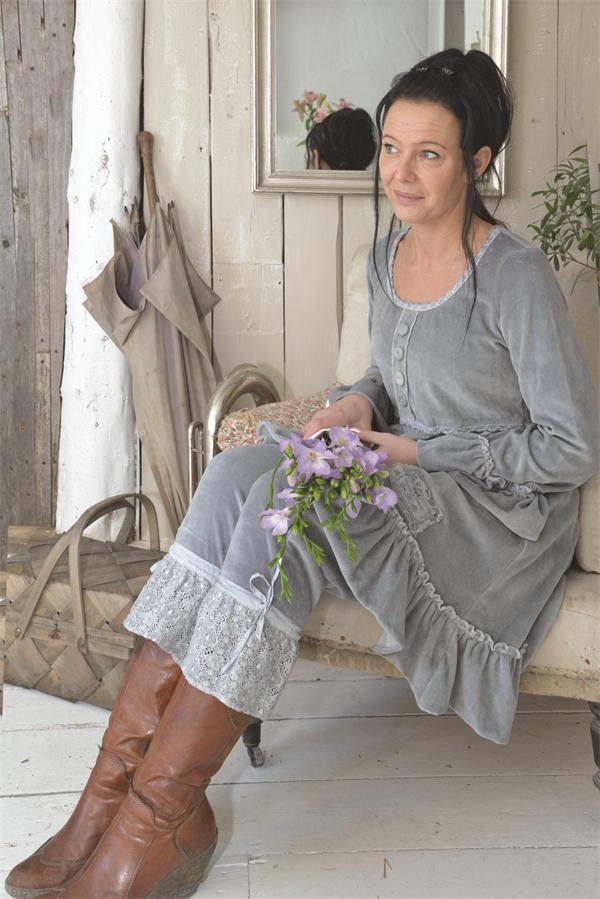 Prachtige set van broek en jurk van Jeanne d arc living! www.romantic24.nl