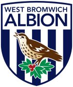 West Bromwich Albion crest  See all Premier League clubs' social media profiles in the keebits App.   Get the app on www.keebits.com