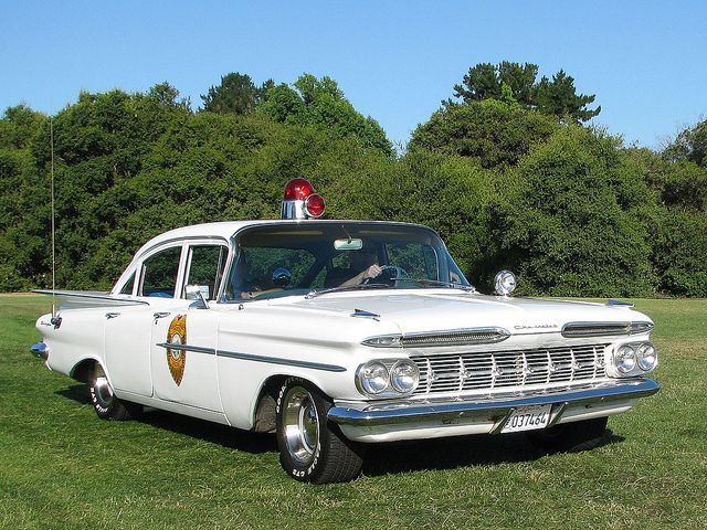 1959 Chevrolet Biscayne Pacifica Police Car