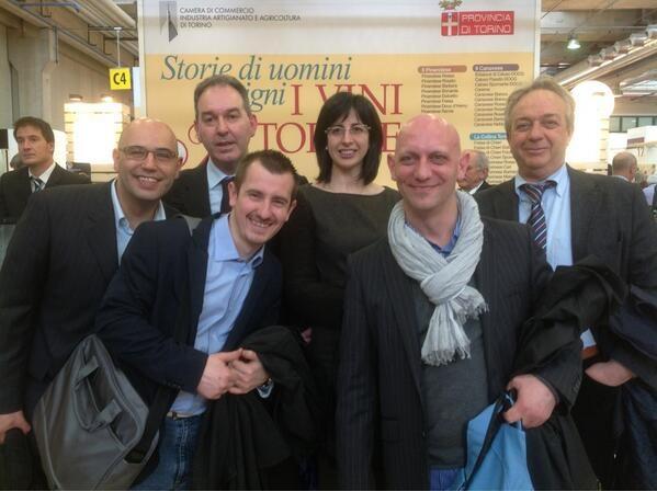 Gruppo #starwood in visita a #piemontefree #vinitaly @Sheraton Milan Malpensa @Enrica Fioretti @VINISTRADAREALE