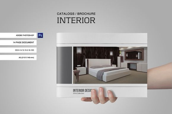 Catalogs / Brochure Interior Vol. 1 by tujuhbenua on @creativemarket