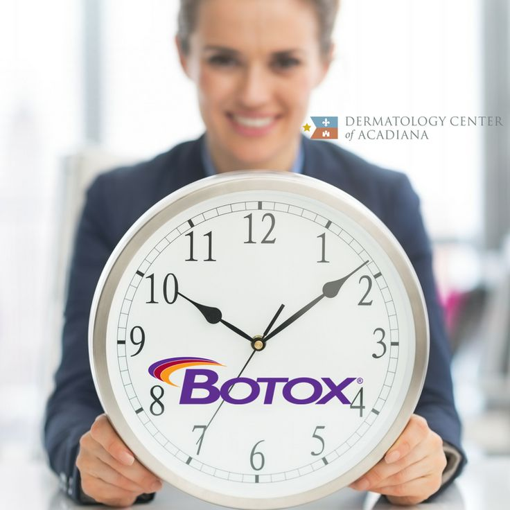 Not only is Botox safe and effective, but it's also a quick ⏱️ procedure! If you find yourself trying to squeeze your Botox appointment into your already hectic schedule, we can help!   We even offer 💄complimentary makeup touch ups💄 to get you back to your day😍 😍 Ready to schedule? Call us at 337-235-6886 today!