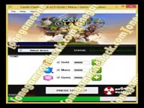 clash of clans взлом на gems