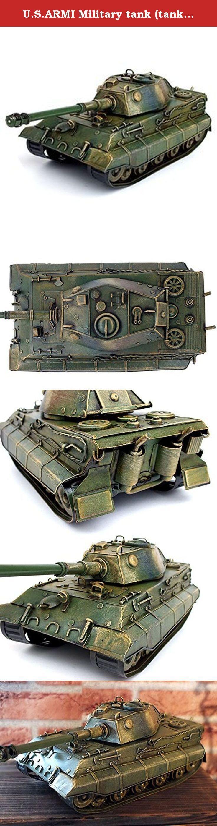 U.S.ARMI Military tank (tanks) military tank tin die-cast! !. It's shipped off from Japan.