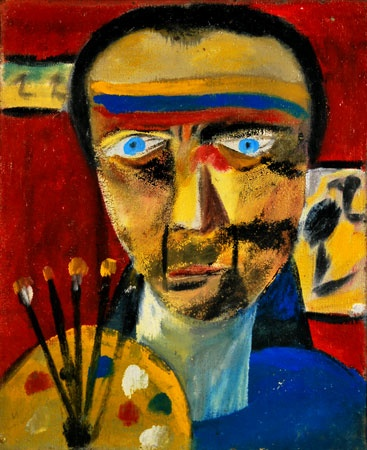 SIDNEY NOLAN Self-Portrait (1943)