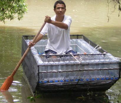 Fantastic Reuse Of Waste Plastic Bottles WellDoneStuff On FB Find This Pin And More Duct Tape Boats