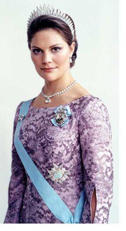 Crown Princess Victoria of Sweden...gotta represent!!!