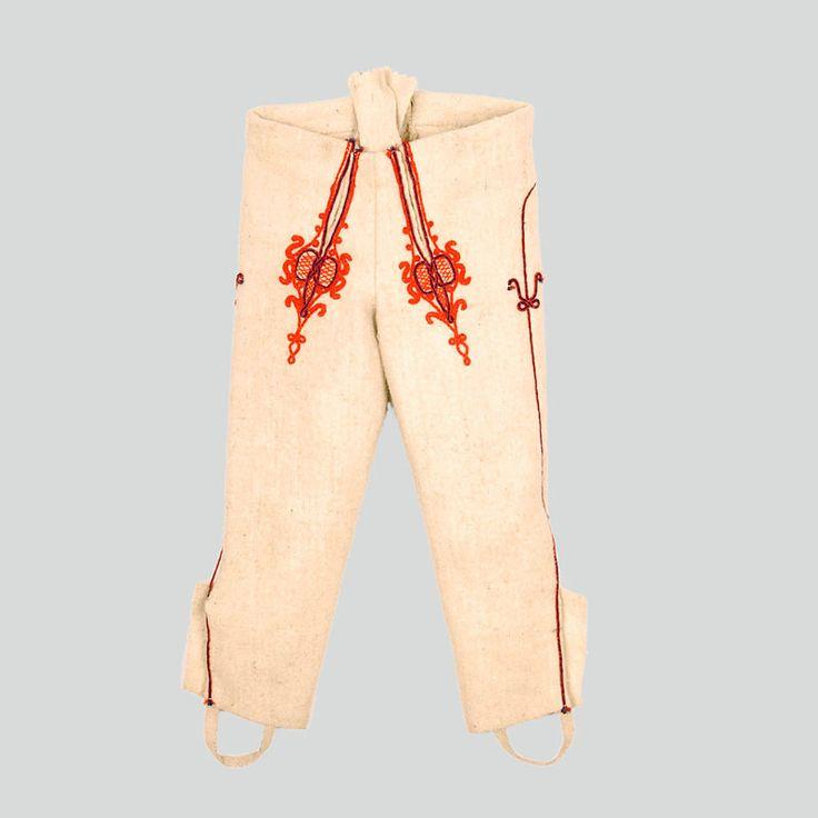 """Spodnie - Etnodizajn """"Wzornik"""" / ENG: www.etnodizajn.pl... #etno #folk #inspirations"""