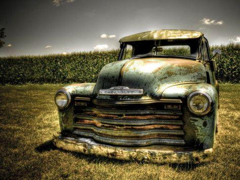 Chevy Truck Photographie par Stephen Arens sur AllPosters.fr www.esthetiquehomme.com