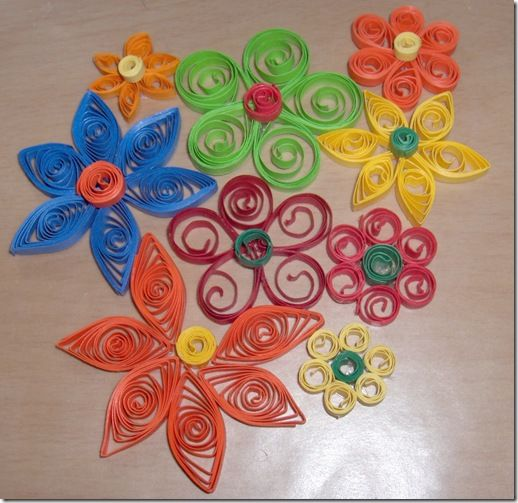 Basic paper quilling techniques paper quilling quilling for Easy quilling designs step by step