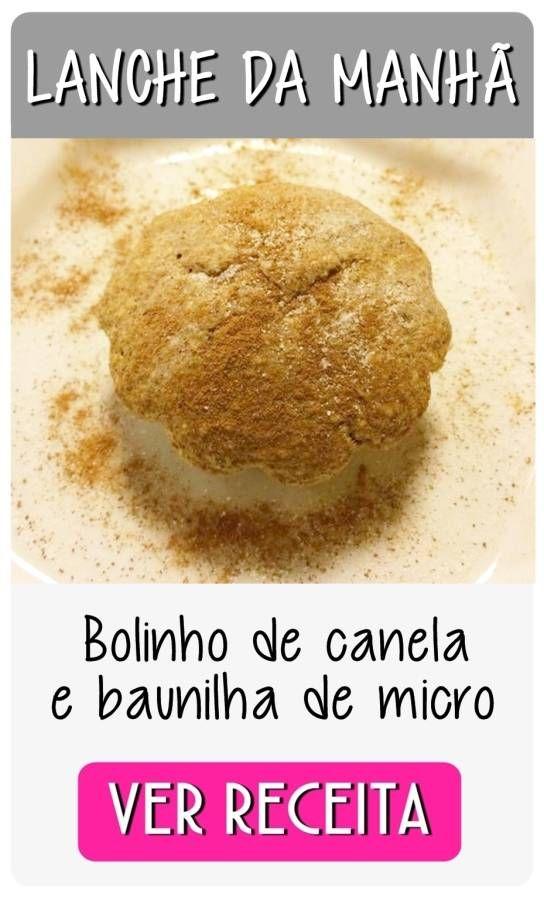 bolinho baunilha MANHA