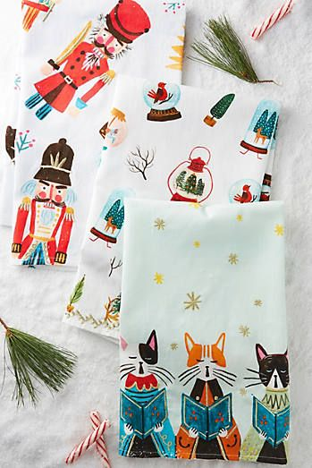 Noel Tea Towel Set