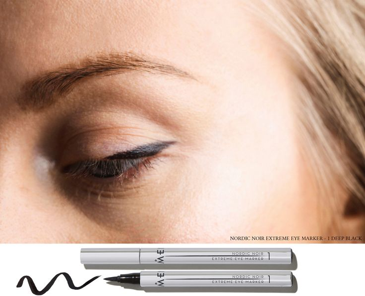 The bare flick - line the naked eye by Lumene Digital Ambassador Sandra Hagelstam @5inchandup