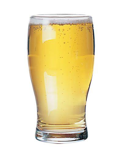 Design ideal para copo de cerveja  em vidro que possibilita melhor aproveitamento da bebida.    Os copos desenhados para servir cerveja são aqueles com a boca um pouco mais larga do que a base. Essa estrutura ajuda a formar a quantidade correta de espuma, que serve para manter a cerveja gelada por mais tempo.