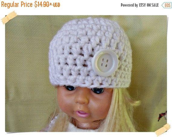 HEIIO SUMMER Crochet baby hat, White baby hat, Crochet girl hat, Crochet boy hat, Crochet toddler hat, Newborn hat, baby hat, Newborn baby P