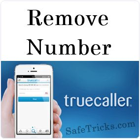 How To Remove Number From Truecaller Directory List