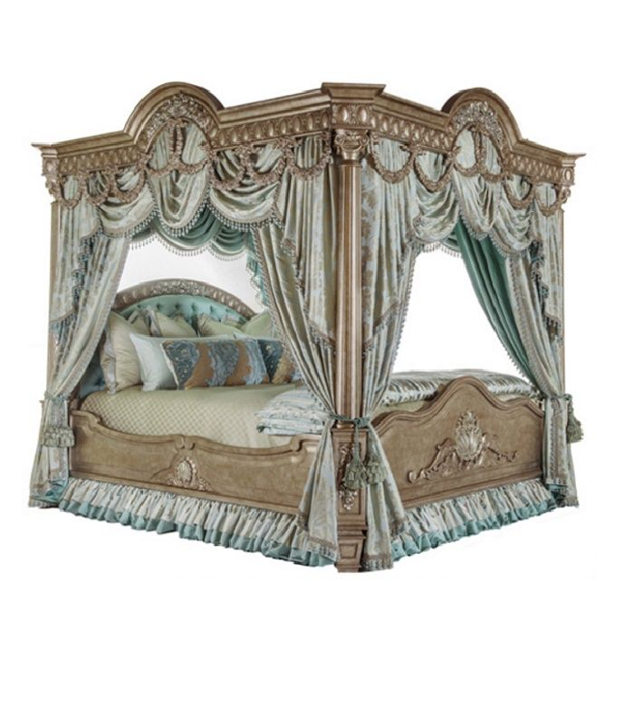 Custom canopy beds