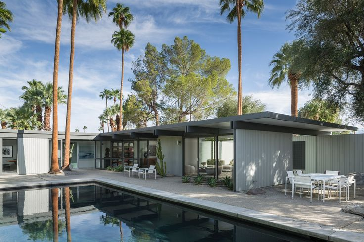 The Wexler House by Donald Wexler :: 1955, 1960, 2008 | 1272 E Verbena Dr, Palm Springs | deasy/penner&partners