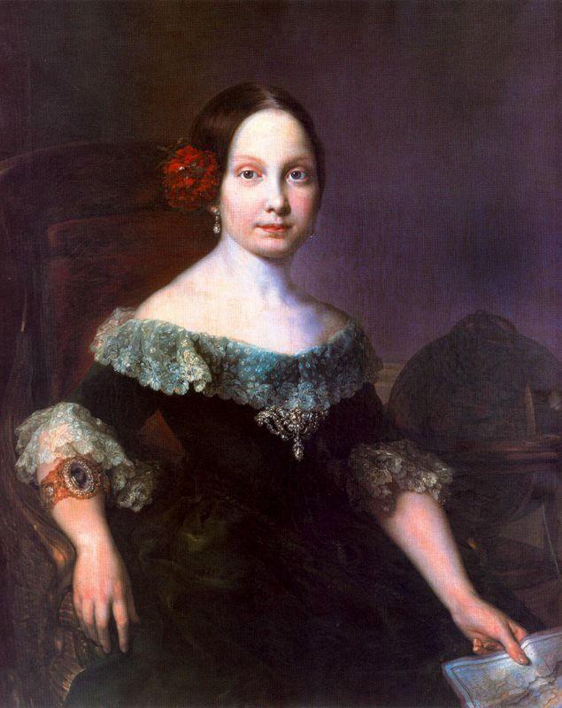 1842 Young Isabel II